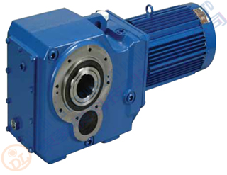 Bevel Helical Geared Motor 5.5kw ratio 120:1