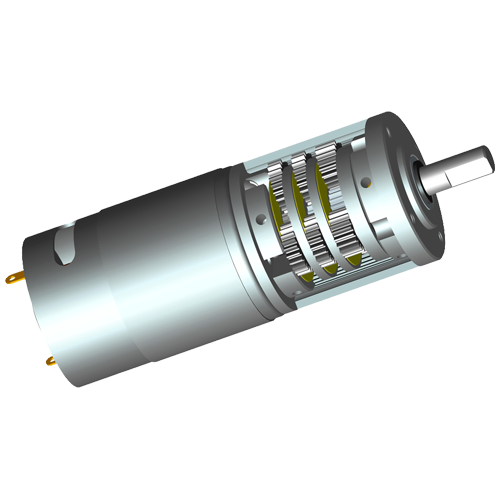 Structure and Characteristic of DC Gearbox Motor