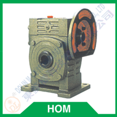 Worm reducer series HOM